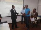 Entrega de Certificados aos Candidatos ao Mestrado em Engenharia de Petróleo